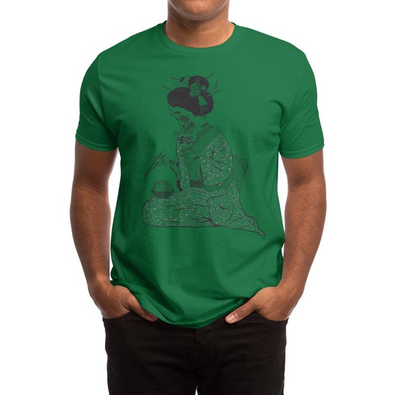 Geishaaa! Men's T-Shirt by Threadless Artist Shop