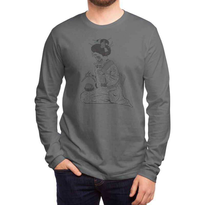 Geishaaa! Men's Longsleeve T-Shirt by Threadless Artist Shop