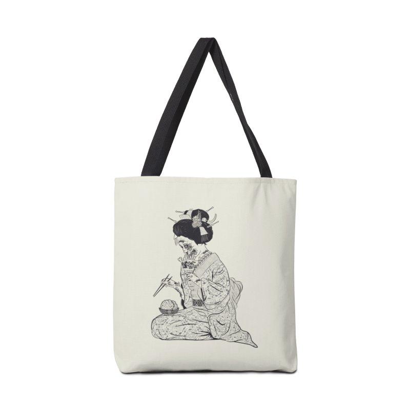 Geishaaa! Accessories Bag by Threadless Artist Shop