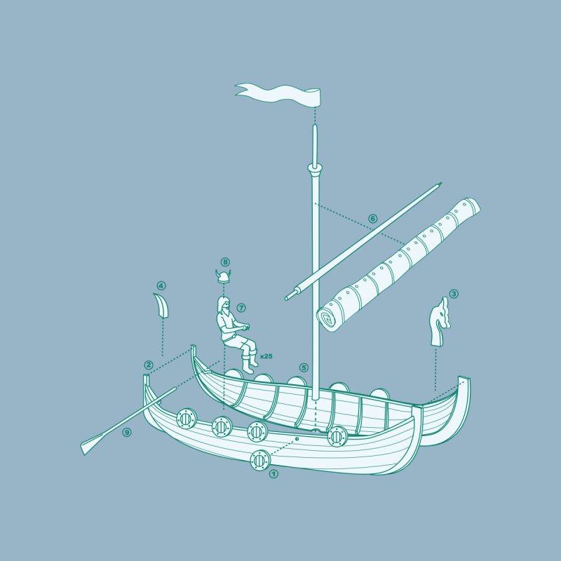 Vikings are just Swedish Pirates Men's T-Shirt by Threadless Artist Shop