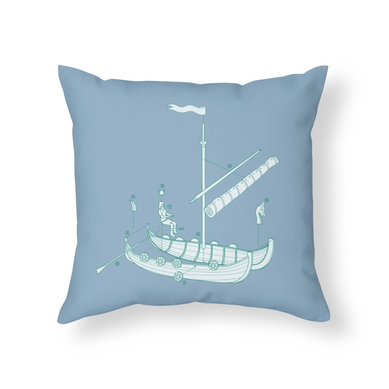Vikings are just Swedish Pirates Home Throw Pillow by Threadless Artist Shop
