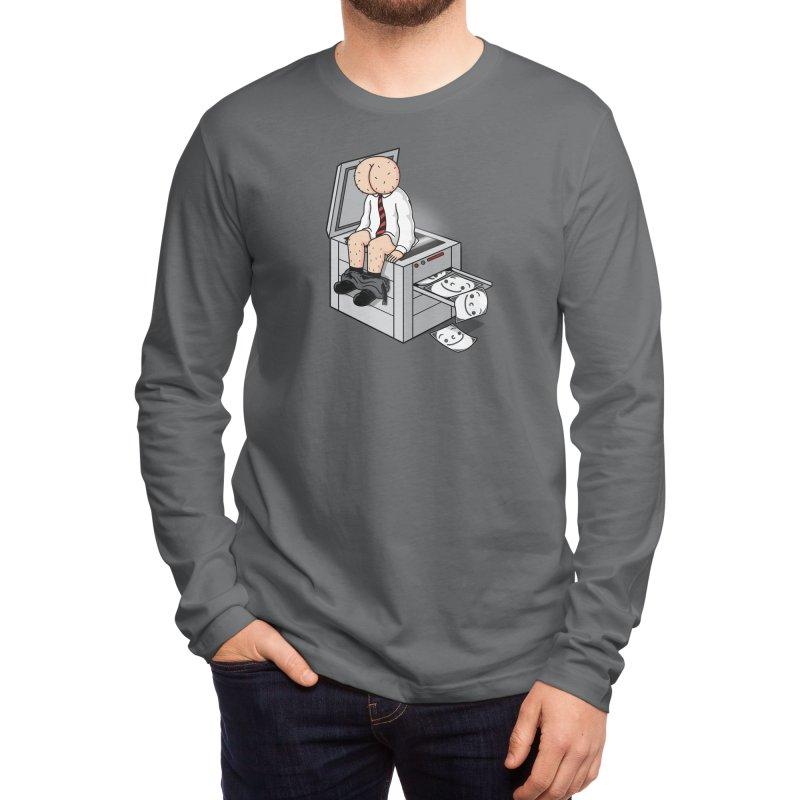 Buttface Copies! Men's Longsleeve T-Shirt by Threadless Artist Shop