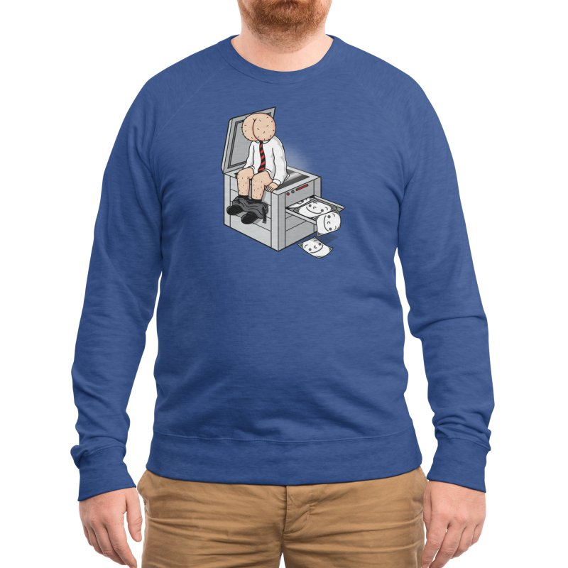 Buttface Copies! Men's Sweatshirt by Threadless Artist Shop