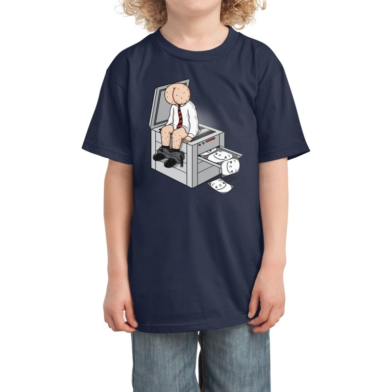 Buttface Copies! Kids T-Shirt by Threadless Artist Shop