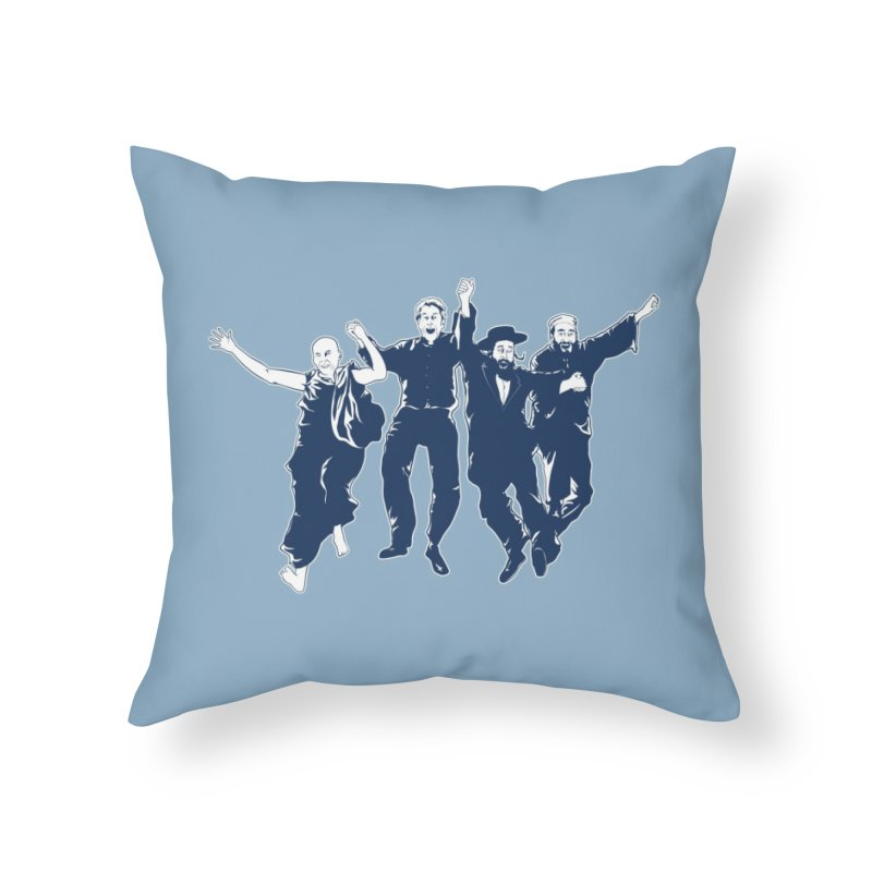 B.F.F. (Best Friends Forever) Home Throw Pillow by Threadless Artist Shop