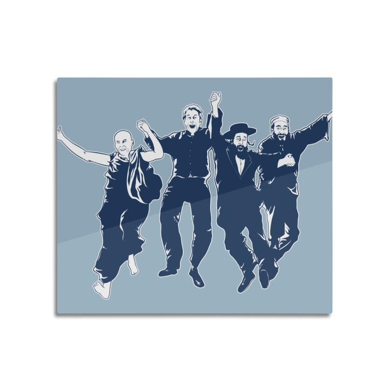 B.F.F. (Best Friends Forever) Home Mounted Acrylic Print by Threadless Artist Shop