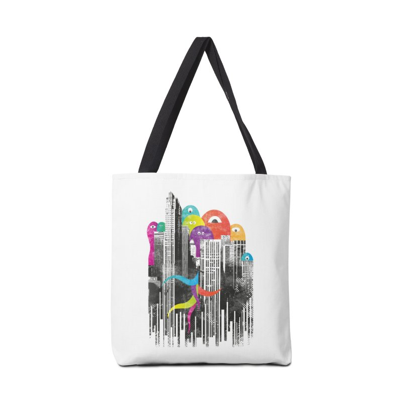 City of Monster Accessories Bag by Threadless Artist Shop