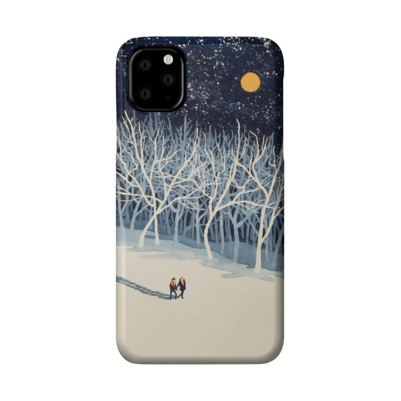 If On A Winter's Night... Accessories Phone Case by Threadless Artist Shop