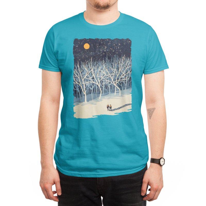 If On A Winter's Night... Men's T-Shirt by Threadless Artist Shop