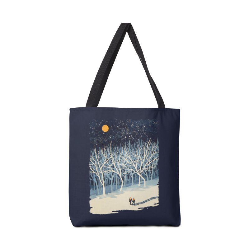 If On A Winter's Night... Accessories Bag by Threadless Artist Shop
