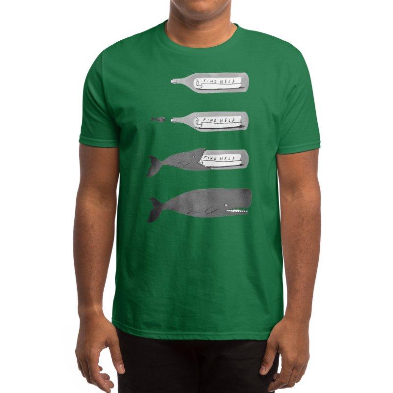 Message in a bottle Men's T-Shirt by Threadless Artist Shop