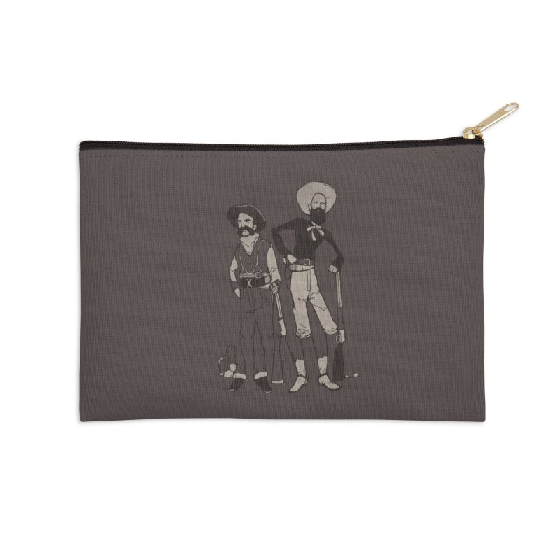 The Optical Illusion Kid Accessories Zip Pouch by Threadless Artist Shop