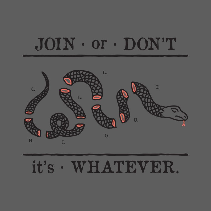 JOIN or DON'T Men's T-Shirt by Threadless Artist Shop