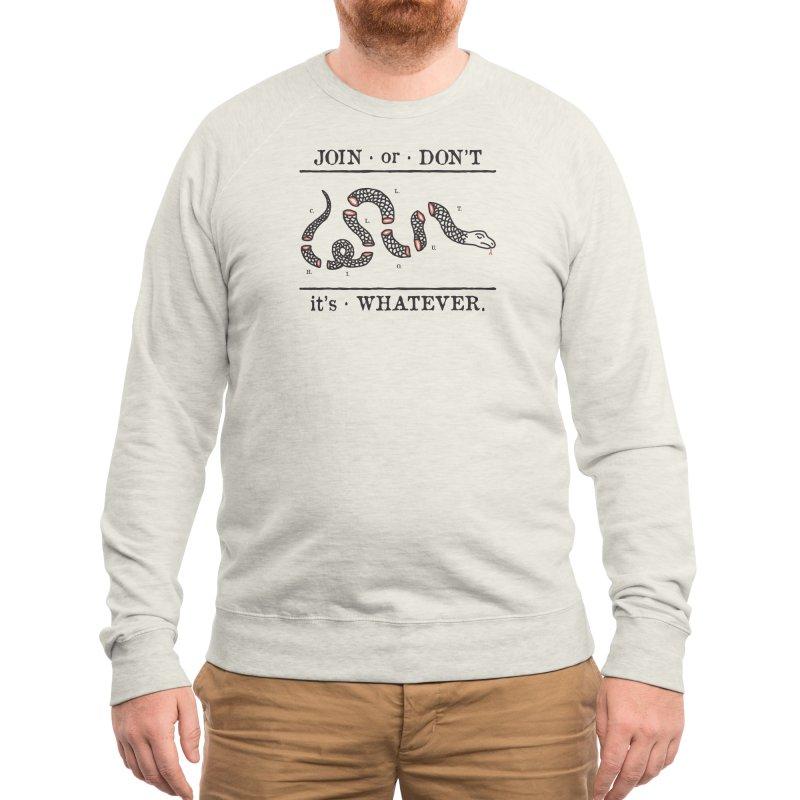 JOIN or DON'T Men's Sweatshirt by Threadless Artist Shop