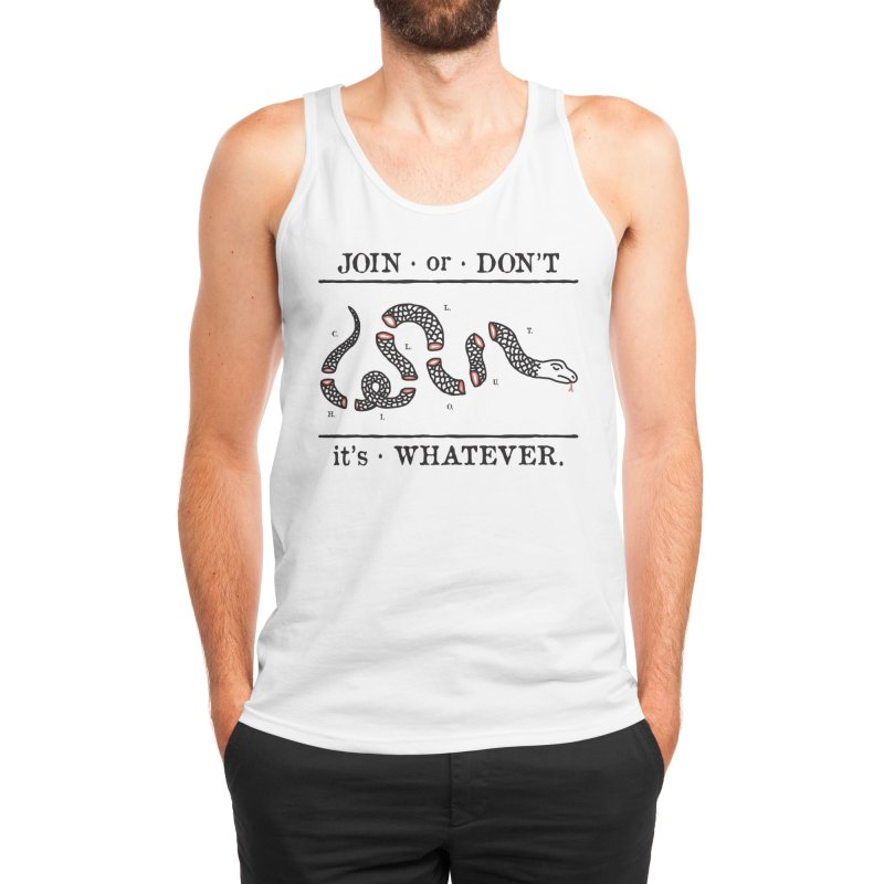 JOIN or DON'T Men's Tank by Threadless Artist Shop