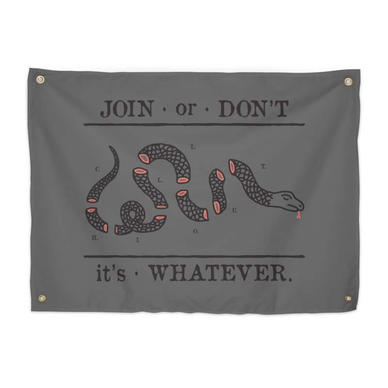 JOIN or DON'T Home Tapestry by Threadless Artist Shop