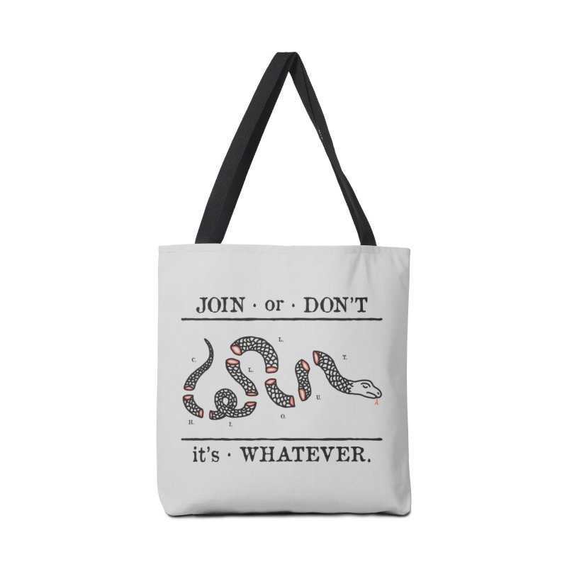 JOIN or DON'T Accessories Bag by Threadless Artist Shop