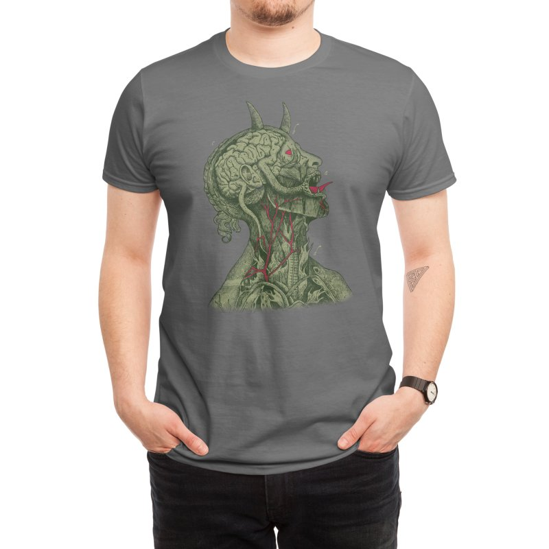 Anatomy of Evil Men's T-Shirt by Threadless Artist Shop