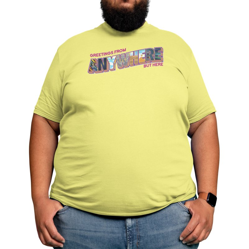 Anywhere But Here Men's T-Shirt by Threadless Artist Shop