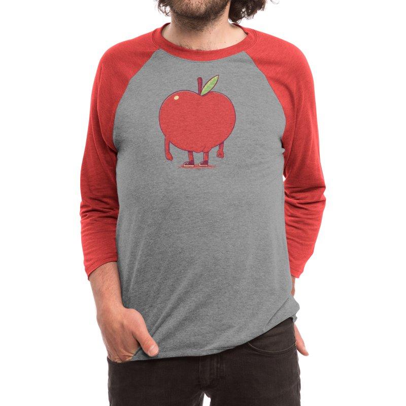 Apple Bottom Men's Longsleeve T-Shirt by Threadless Artist Shop