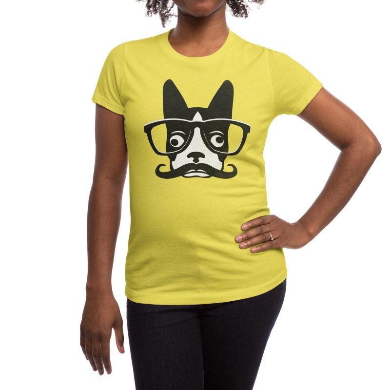 Boston Intellectual Women's T-Shirt by Threadless Artist Shop