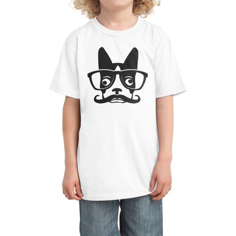 Boston Intellectual Kids T-Shirt by Threadless Artist Shop