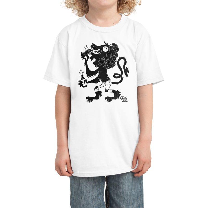 BRO OF ARMS Kids T-Shirt by Threadless Artist Shop