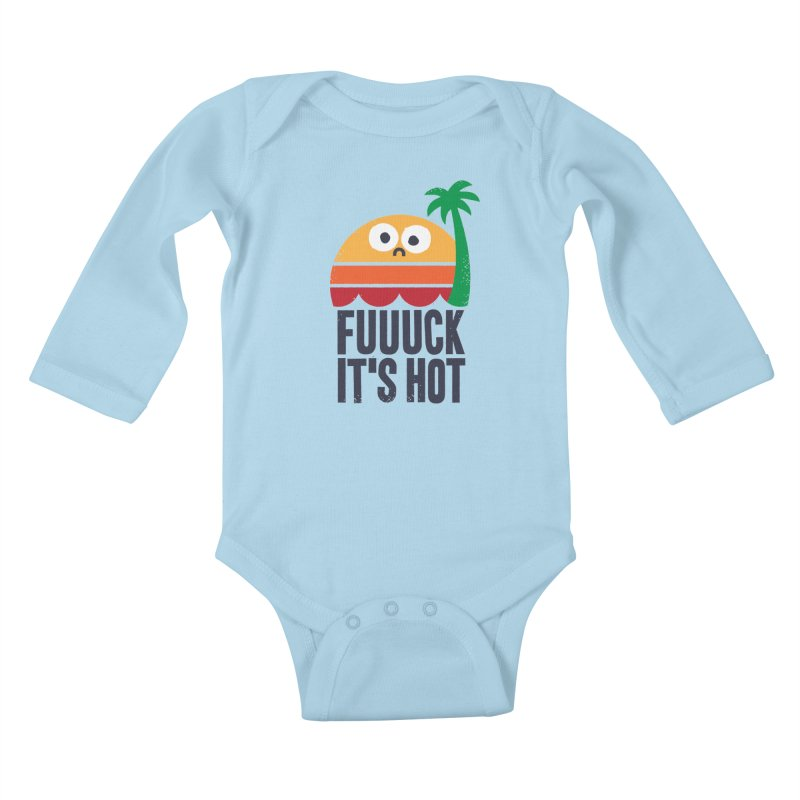 Heated Rhetoric Kids Baby Longsleeve Bodysuit by Threadless Artist Shop