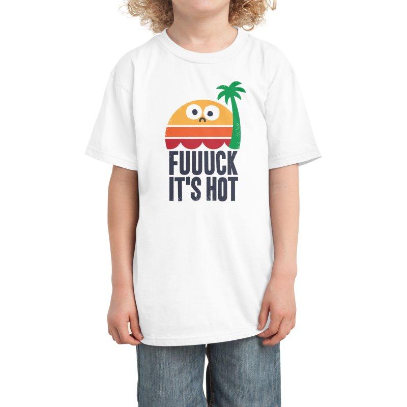 Heated Rhetoric Kids T-Shirt by Threadless Artist Shop