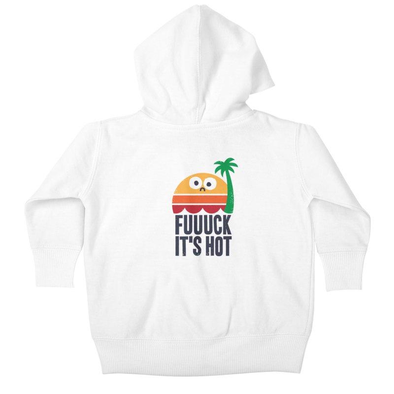 Heated Rhetoric Kids Baby Zip-Up Hoody by Threadless Artist Shop