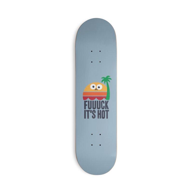 Heated Rhetoric Accessories Skateboard by Threadless Artist Shop