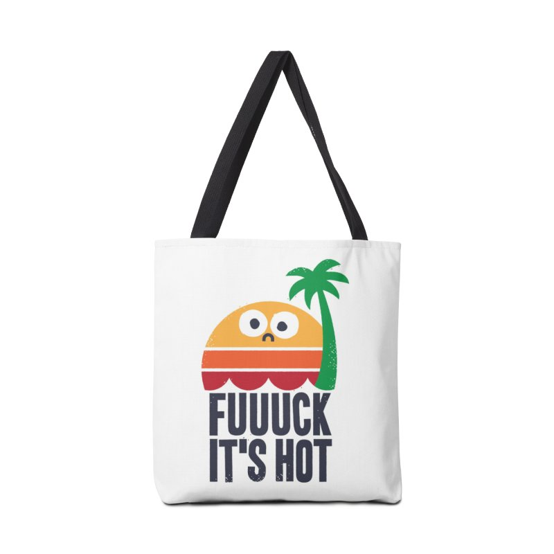 Heated Rhetoric Accessories Bag by Threadless Artist Shop