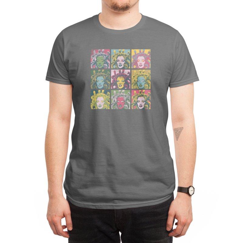 Badass Hair Day Men's T-Shirt by Threadless Artist Shop