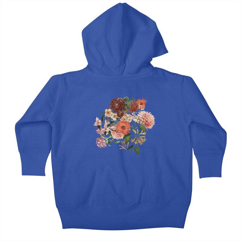 Garden - Jackson Duarte Kids Baby Zip-Up Hoody by Threadless Artist Shop