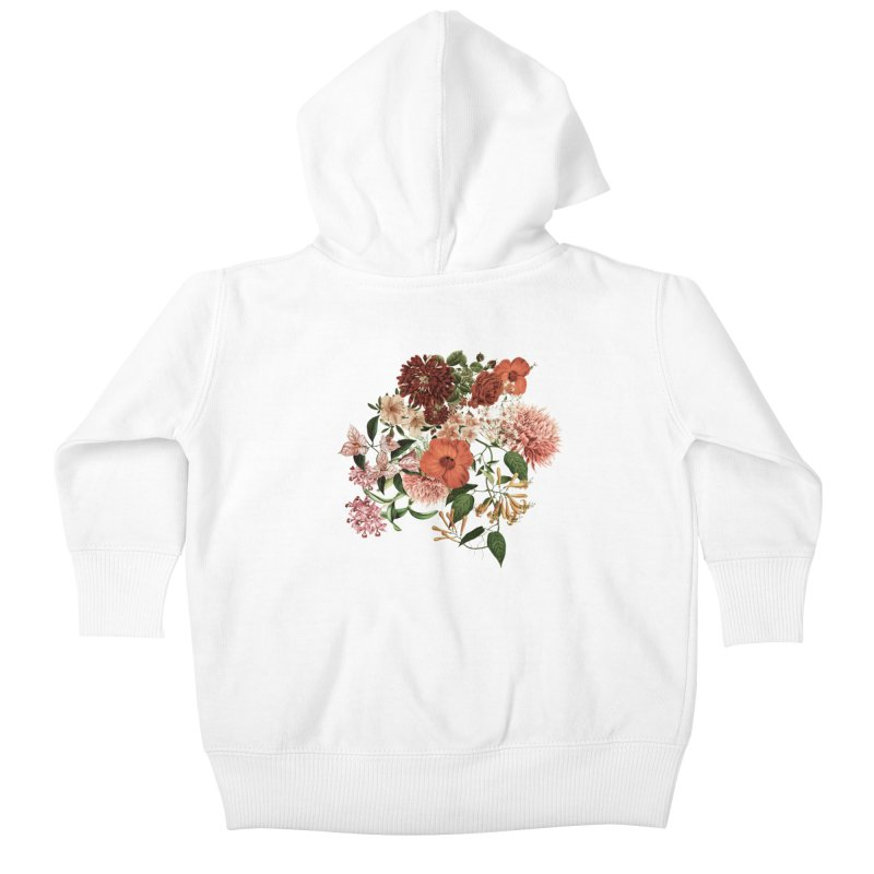 Garden - Jackson Duarte Kids Baby Zip-Up Hoody by Threadless Artist Shop