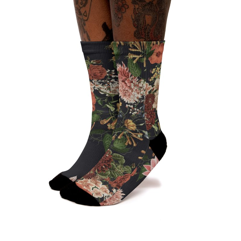 Garden - Jackson Duarte Women's Socks by Threadless Artist Shop