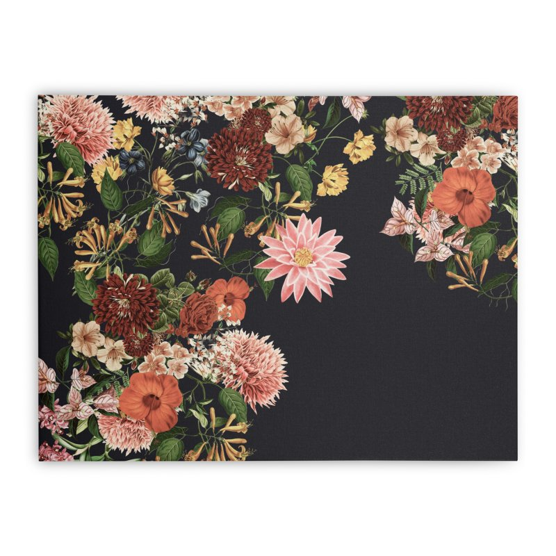 Garden - Jackson Duarte Home Stretched Canvas by Threadless Artist Shop