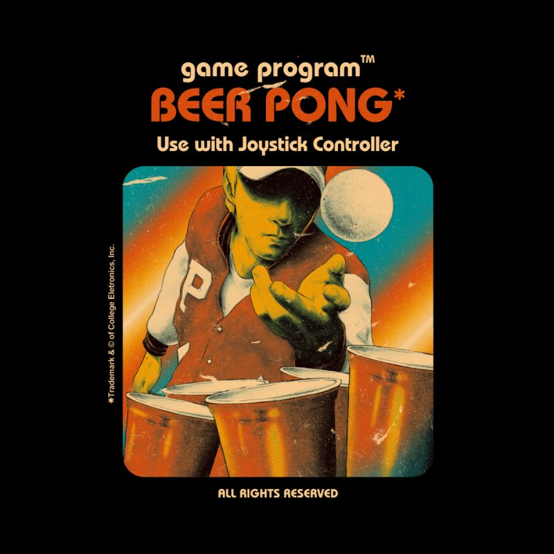 Beer Pong - Mathiole & Hafaell Pereira Men's T-Shirt by Threadless Artist Shop