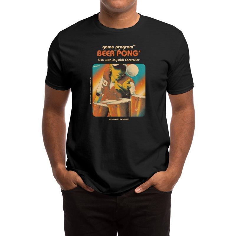 Beer Pong - Mathiole & Hafaell Pereira Men's T-Shirt by Threadless Artist Shop