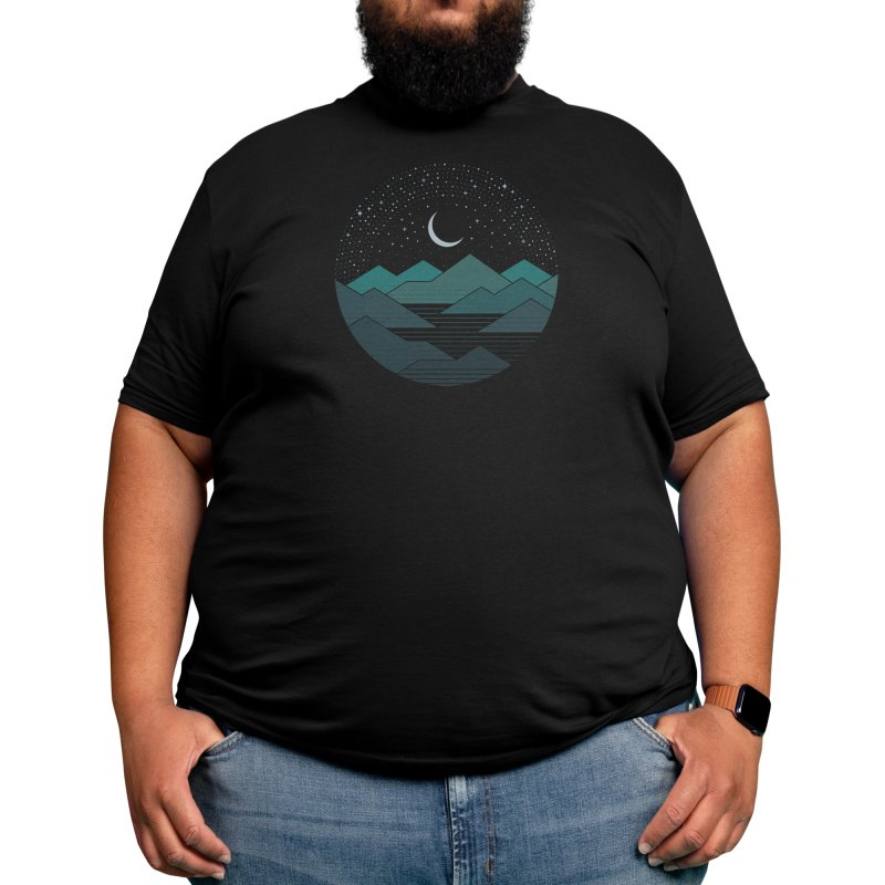 Between The Mountains And The Stars Men's T-Shirt by Threadless Artist Shop