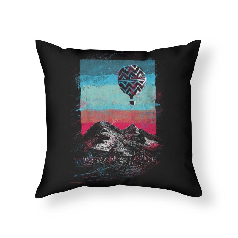 Big Sky Home Throw Pillow by Threadless Artist Shop