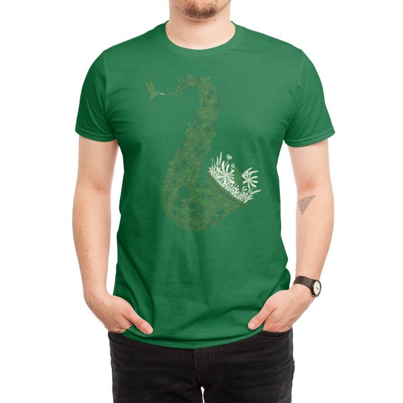Birdsong Men's T-Shirt by Threadless Artist Shop