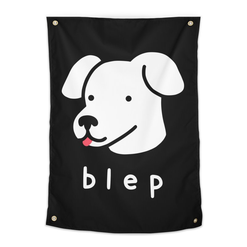 Blep Dog Home Tapestry by Threadless Artist Shop