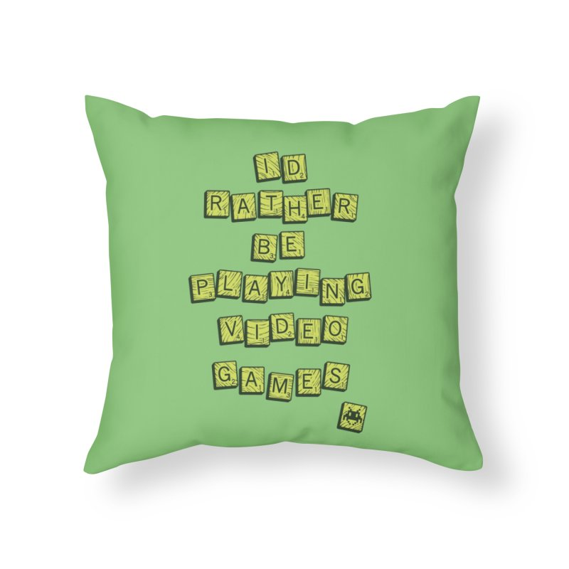 Bored Games Home Throw Pillow by Threadless Artist Shop