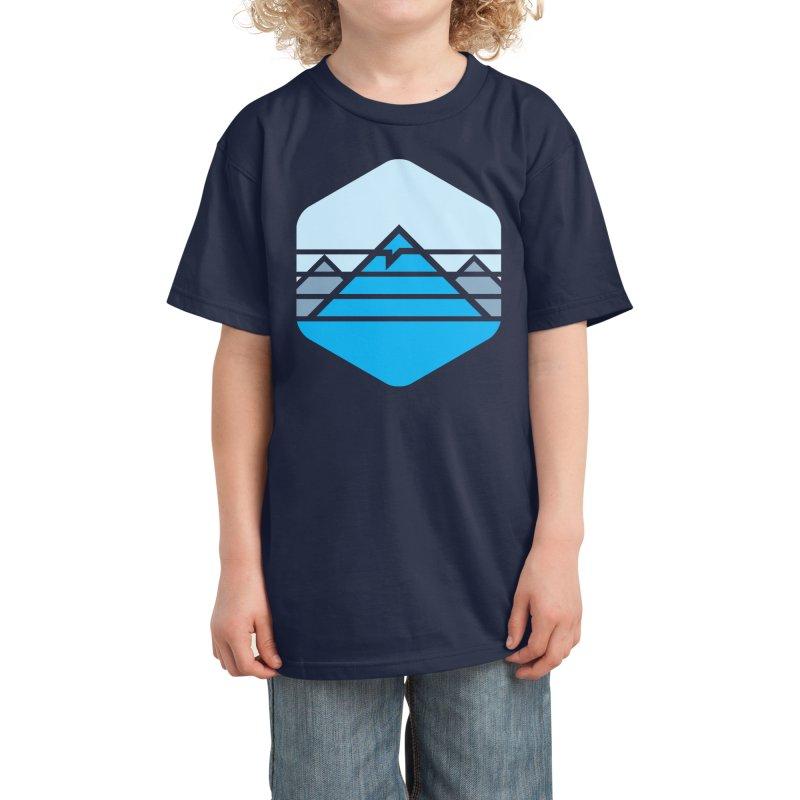 Everest Kids T-Shirt by Threadless Artist Shop