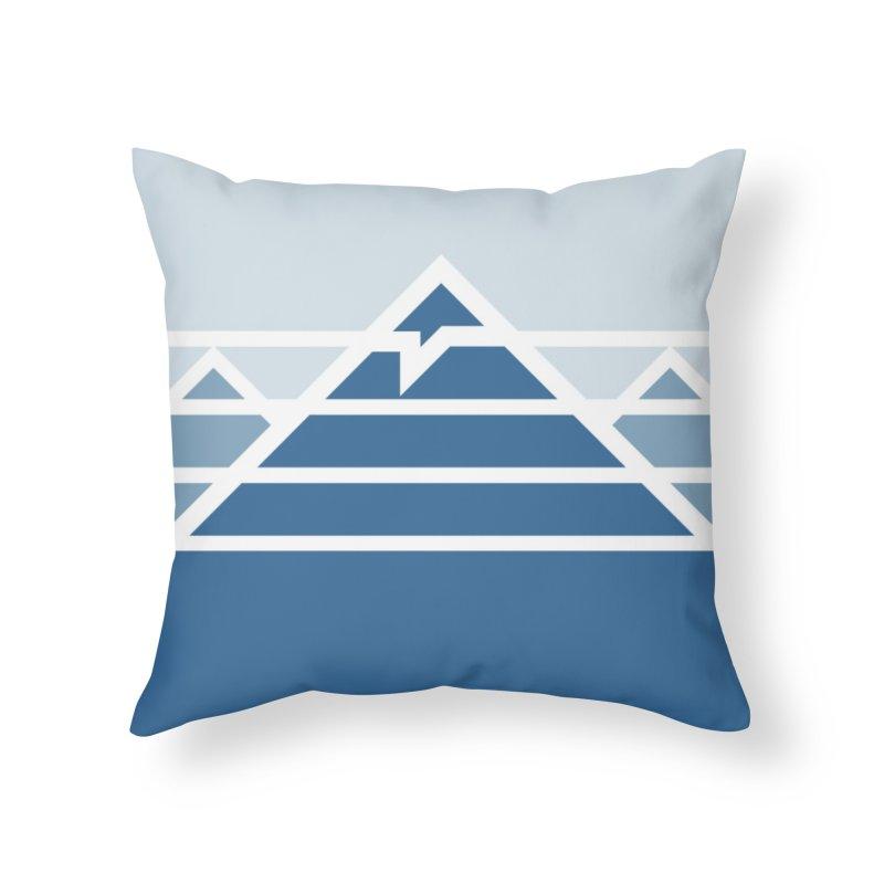 Everest Home Throw Pillow by Threadless Artist Shop