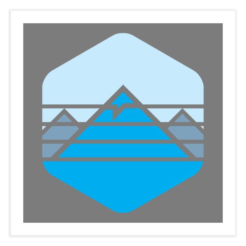 Everest Home Fine Art Print by Threadless Artist Shop