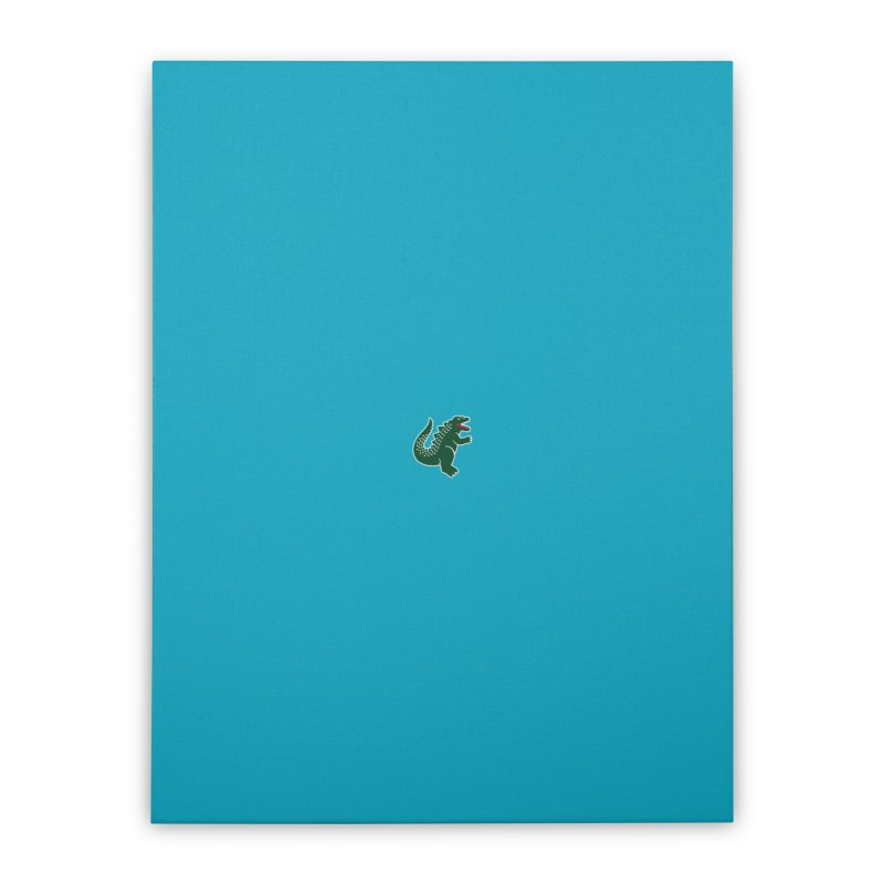Lamonstre Home Stretched Canvas by Threadless Artist Shop