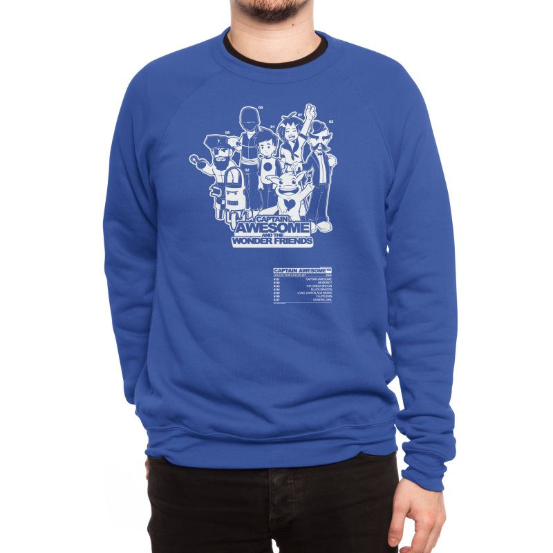 Captain Awesome Men's Sweatshirt by Threadless Artist Shop