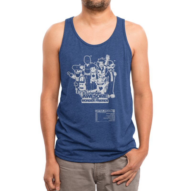 Captain Awesome Men's Tank by Threadless Artist Shop